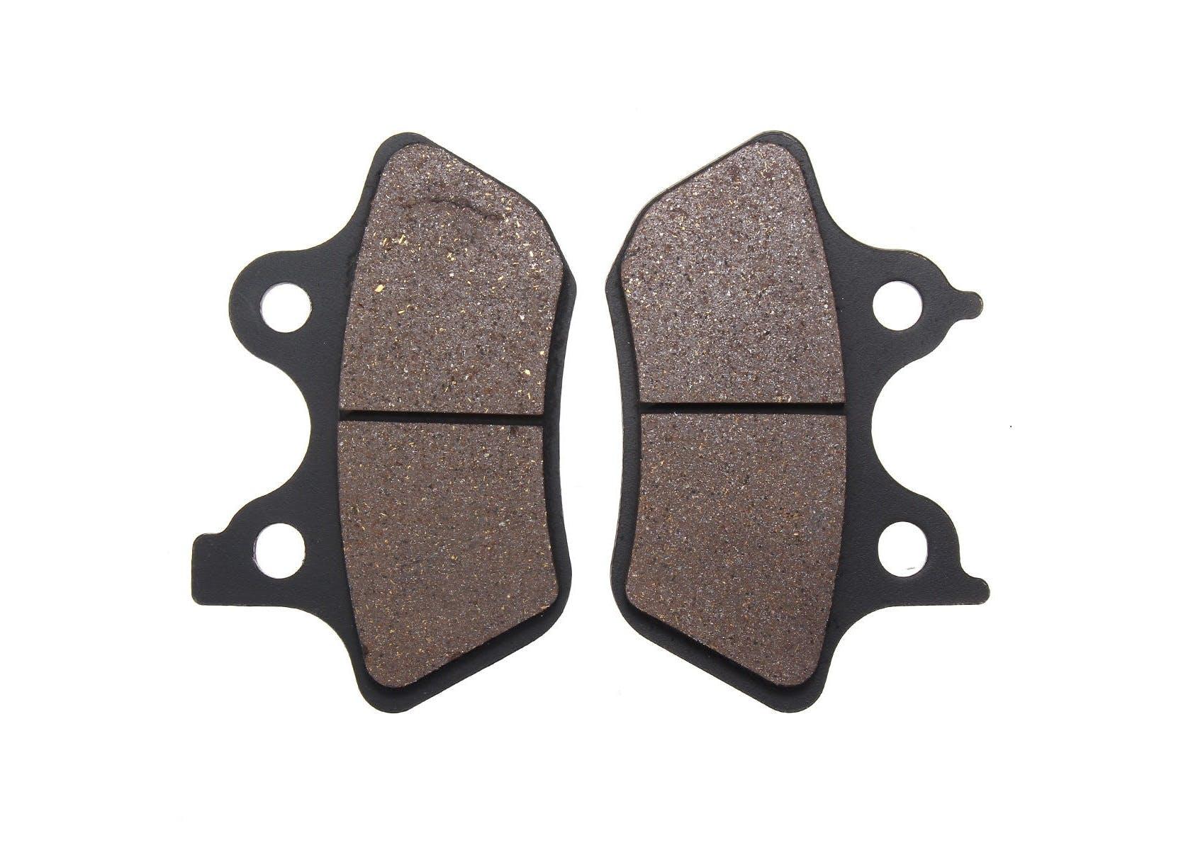 A brand new set of brake pads