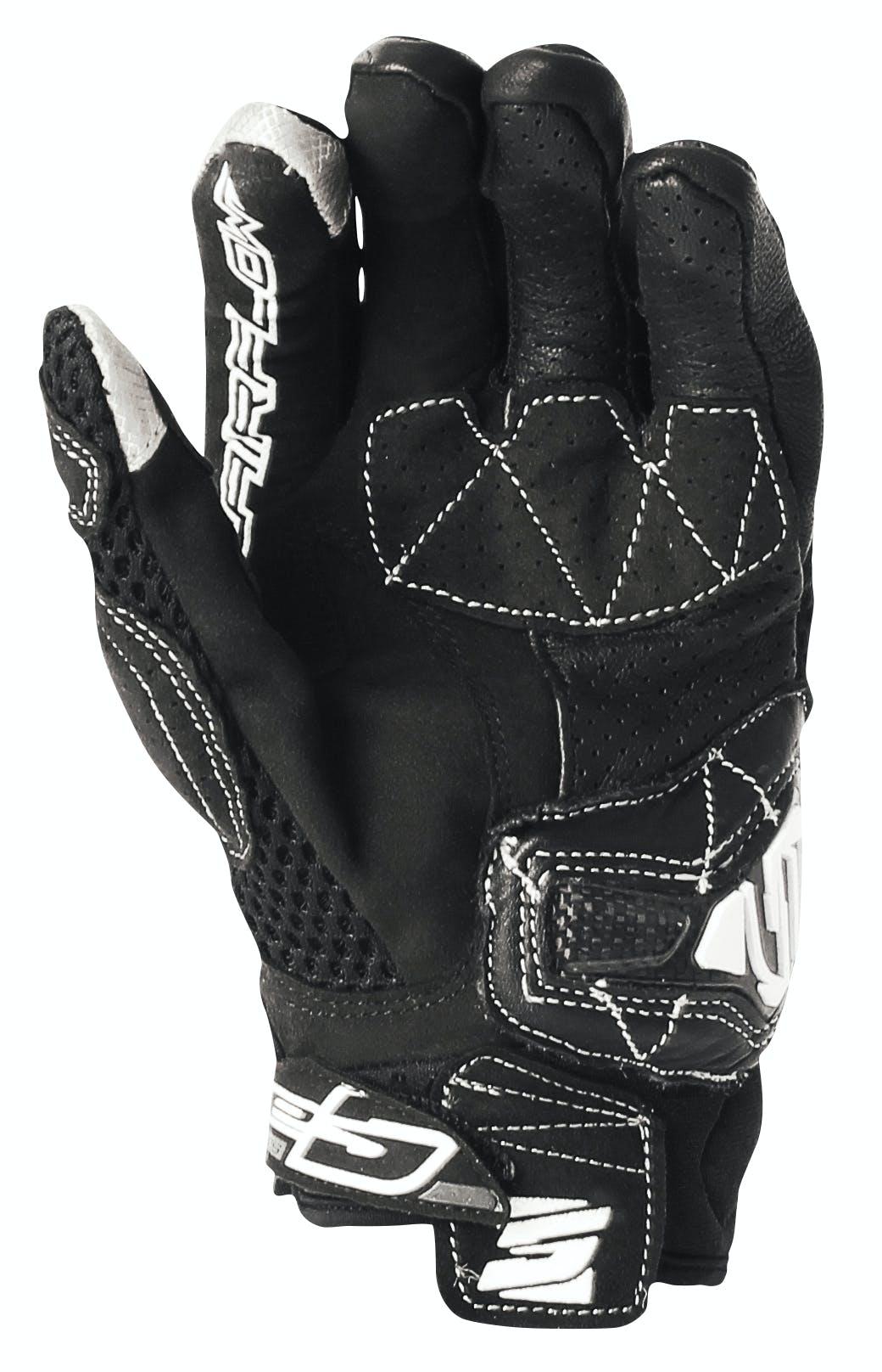 The palm of teh Five Stunt glove