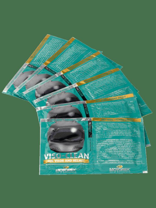 Motorex Viso-Clean one use wipes