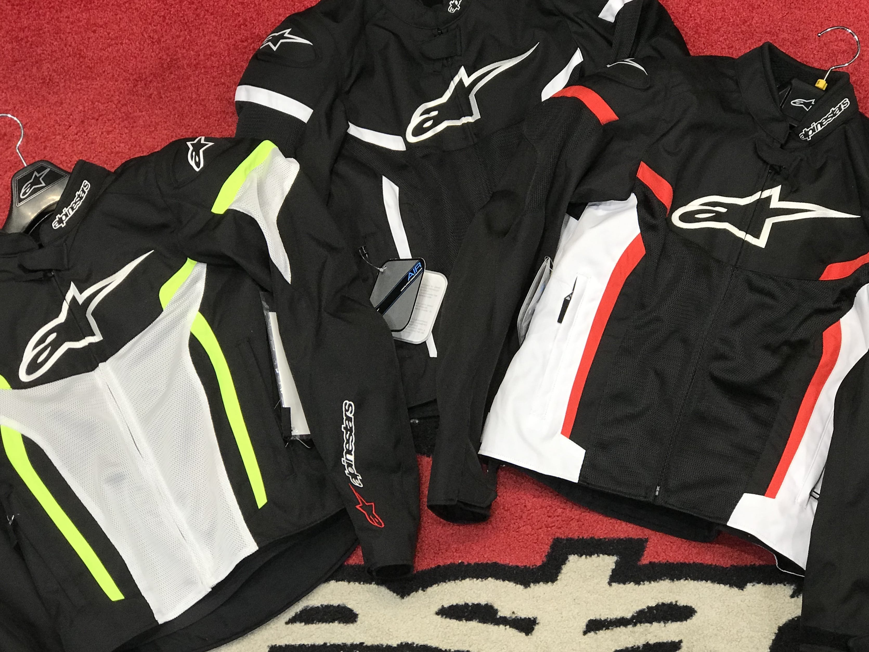T-GP Air V2 Jackets in store at Bikebiz in 3 different colours